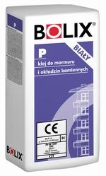 Baltā Smago Flīžu un Marmora Līme Bolix P  Fasējums Balta 25kg Bolix P Marmora/Flīžu līme (patēriņš 1mm biezumam 0.85kg/m2) Marmoram un akmens apdares pārklājumu līmēšanai uz vertikālām un horizontālām virsmām, tāpat lielu, smagu keramikas un akmens flīžu līmēšanai, klinkera līmēšanai uz betona, ķieģeļu pamata, cementa un cementa-klinšu apmetuma. Lietojama āra un iekšējiem darbiem, tāpat telpās, kurās reizēm ir mitrs (piemēram, virtuvēs, vannās). Tā kā līme ir mehāniski ļoti izturīga, ar to reko