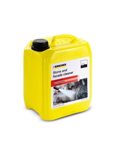 Mazgāšanas līdzeklis akmenim un fasādēm Kärcher 3in1, 5L  Specifikācija Akmens un fasāžu tīrīšanas līdzeklis izmantošanai ar augstspiediena mazgātāju.  Svars 5.0  Cena par 1L 3.26 EUR