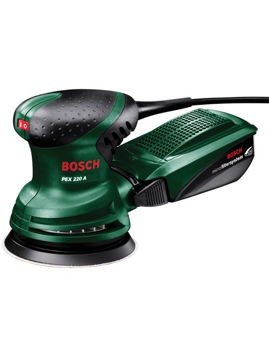 Ekscentra slīpmašīna Bosch PEX