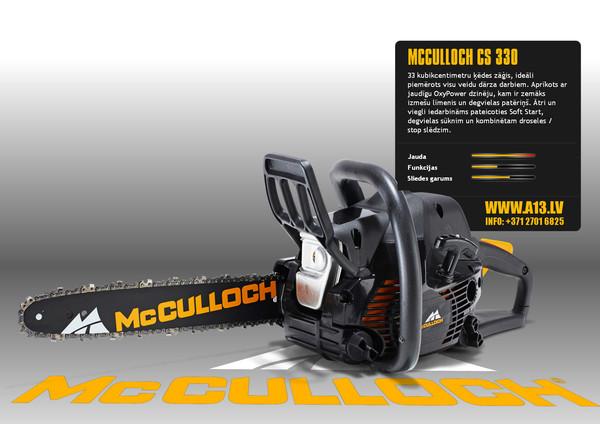 Benzīna Motorzāģis McCULLOCH C