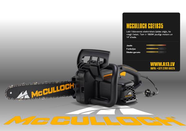 Elektriskais Motorzāģis McCULL