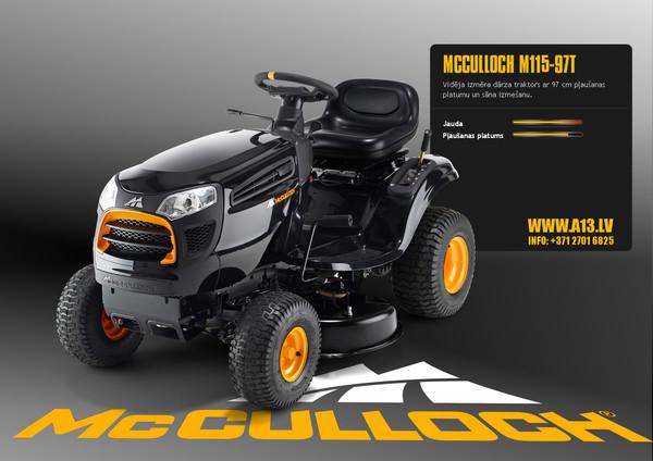 Dārza Traktors McCulloch M115-