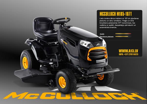 Dārza Traktors McCulloch M185-