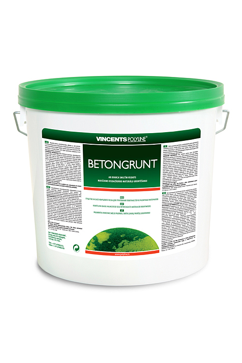 Vincents Betongrunts 4kg  Fasē