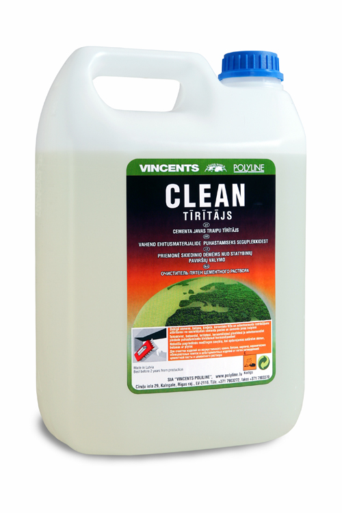 Vincents Clean Cementa traipu tīrīšanas līdzeklis 5L  Fasējums 5 L L