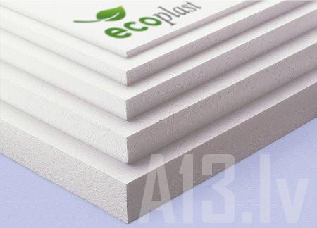 Putuplasts EPS 70 Fasādes Putupolistirols 20mm  Izmērs 20x500x1000 mm Iepak. 30 gab. Iepak. 15.0 m2 Iepak. 0.3 m3 Cena par 1 iepak. 15.00 EUR  1.00