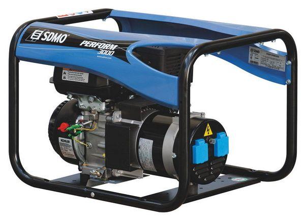 SDMO profesionālais ģenerators