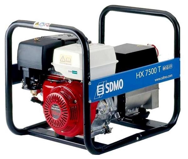 SDMO ģenerators regulāriem āra