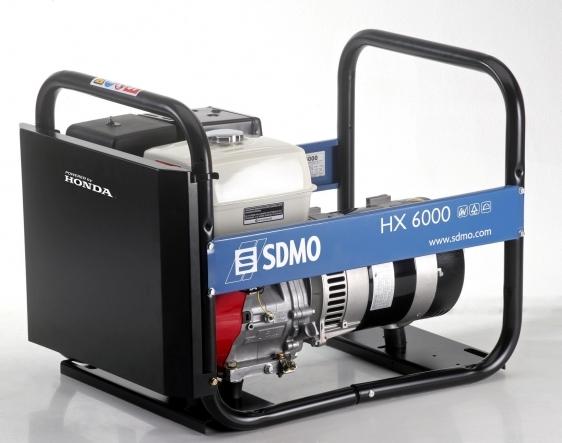 SDMO ģenerators SH 6000 E2, 6k