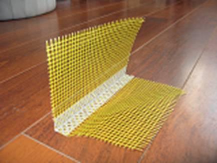 Stūra šina fasādēm (PVC 10cm*1