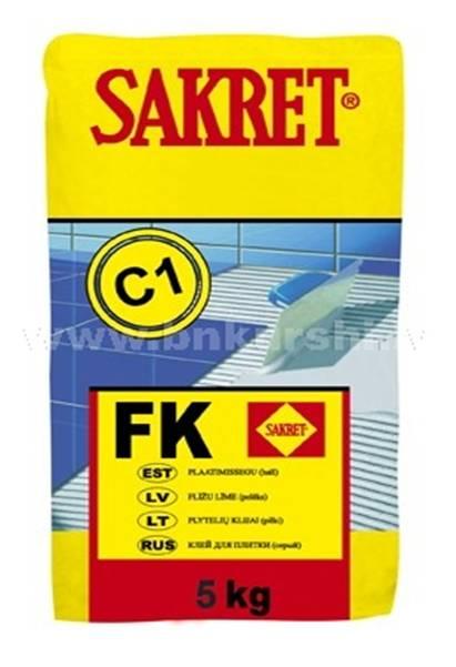 SAKRET Flīžu Līme FK 5kg  piel