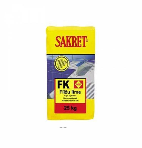 SAKRET Flīžu Līme FK 25kg  pie