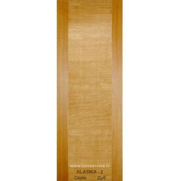 Durvis Klasika-2 LOZA, Ozols 800x2000mm Vērtnes Izmērs 800x2000 mm Bloka Izmērs 860x2040 mm Krāsas Tonis Ozols Iegādājoties 2 un vairāk kompl. 98.99 EUR tsk. PVN