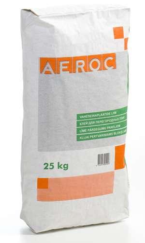 AEROC Gāzbetona Bloku līme 25k