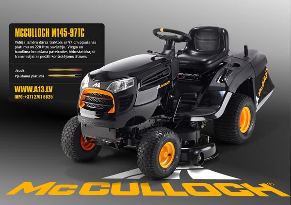 Dārza Traktors McCulloch M145-