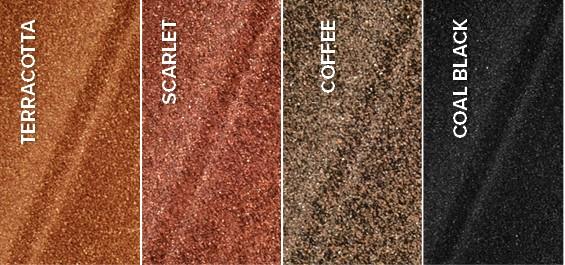 Metāla kompozīta dakstiņš Metrotile Mistral Coffee 1305x415mm  Ražotājvalsts Beļģija  Garantija 50 gadi  Loksnes Izmērs 1305x415 mm Loksnes Svars 3.0 kg Lietderīgais Laukums 0.46 m2 Cena 15.35 EUR/m2