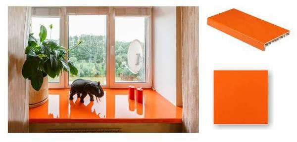 Crystallit Oranža PVC Palodze