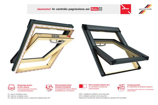 Roto Q4 Premium Jumta Logs H3P