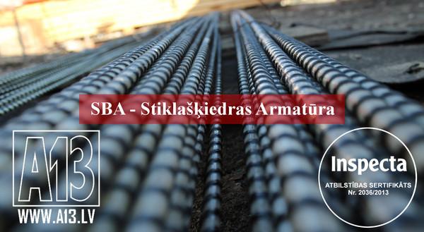 Stikla šķiedras Armatūra SBA D