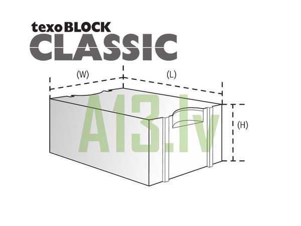 TexoBLOCK Gāzbetona Bloki CLAS