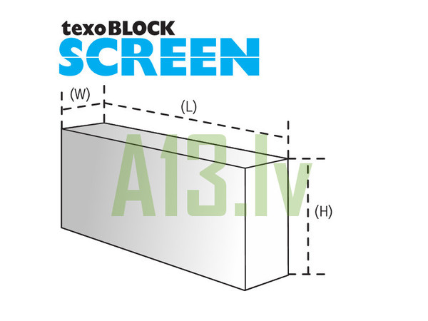 TexoBLOCK Gāzbetona Bloki SCRE