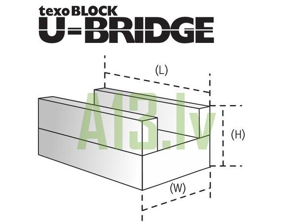 TexoBLOCK Gāzbetona Bloki U-BR