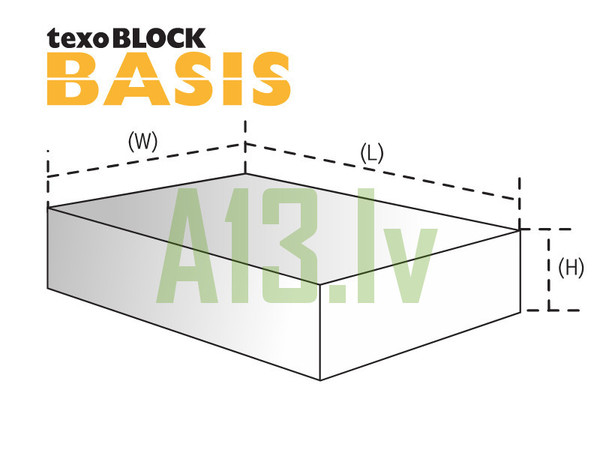 TexoBLOCK Gāzbetona Bloki BASI