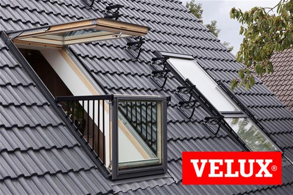 Velux Cabrio GDL Jumta balkons