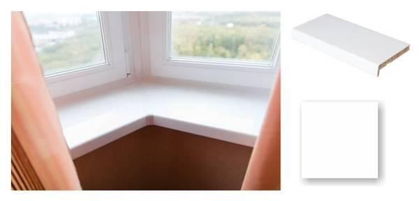 Crystallit Balta Matēta PVC Palodze - White Matte 400mm  Krāsa Balta Matēta  Platums 400 mm