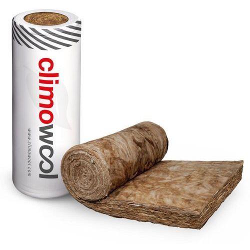 Minerālvate ruļļos CLIMOWOOL DF44 100mm 9.6m2/rll   Biezums 100 mm Platums 1200 mm Garums 8000 mm Siltumvadītspēja 0.044 W/mK Loksnes Pakā 1 gab. Cena par m2 1.65  Iepakojumā 9.6 m2